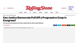 Can Justice Democrats Pull Off a Progressive Coup in ... - Rolling Stone