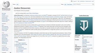 Justice Democrats - Wikipedia