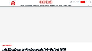 Left-Wing Group Justice Democrats Picks Its First 2020 Primary Target ...