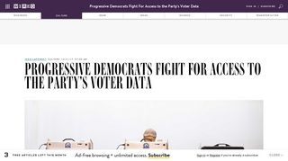Justice Democrat Candidates Have Been Denied Access to DNC ...
