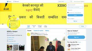KESCo. Kanpur (@KescoKanpur)   Twitter