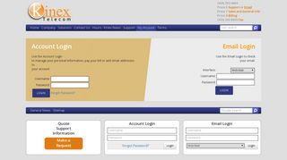 My Account • Kinex Telecom