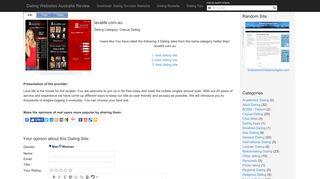 lavalife.com.au The user experiences - Dating Sites Australia / Aussi ...