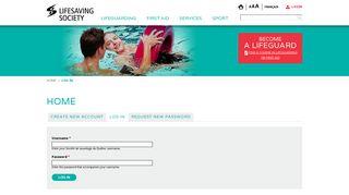 Lifesaving Society - Société de sauvetage