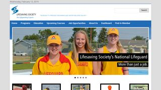 Lifesaving Society: Home
