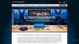 Lightworks: The professional editor for everyone