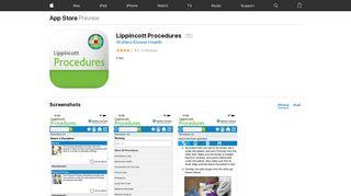 Lippincott Procedures on the App Store - iTunes - Apple