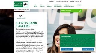 Lloyds Bank Careers - Home - Lloyds Banking Group plc