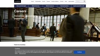Careers - Lloyd's - The world's specialist insurance market. Also ...