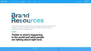 Twitter Brand Resources