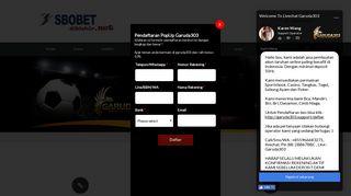 Wap sbobet com mobile betting 123 csgo lounge betting tutorial 2021 cadillac