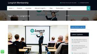 Longrich SA – Longrich Membership