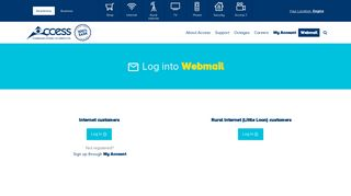 Log In | Webmail | Access Communications