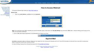 WebMail - Sentex Data Communications