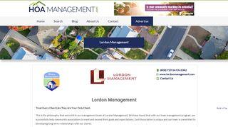 California HOA Management | Lordon Management - HOA ...