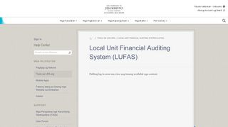 Local Unit Financial Auditing System (LUFAS) - LDS.org