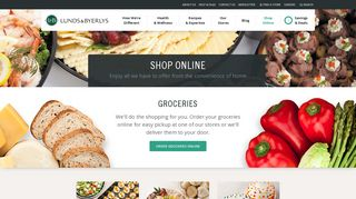 Lunds & Byerlys Shop Online
