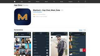 Manhunt – Gay Chat, Meet, Date on the App Store - iTunes - Apple