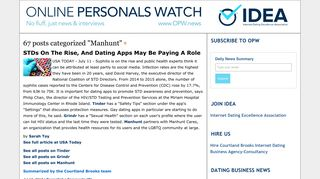 Manhunt - Online Personals Watch