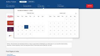 Airline Tickets, Domestic Airlines In India | MakeMyTrip India