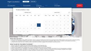 Flight Cancellation, Zero Flight Cancellation Fee | MakeMyTrip