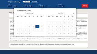 Flight Availability, Flight Ticket Availability, Check Seat ... - MakeMyTrip