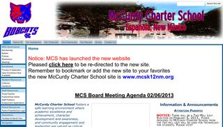 McCurdy Charter School - Google Sites