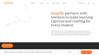 Amplify | Home