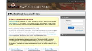 Maryland State Police: Motor Vehicle Inspection - Maryland.gov