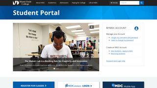 Student Portal   Miami Dade College