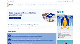 Fast, easy apprentice and trainee payroll services | MEGT (Australia) Ltd
