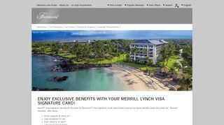 Enjoy Exclusive Benefits with your Merrill Lynch Visa Signature Card ...