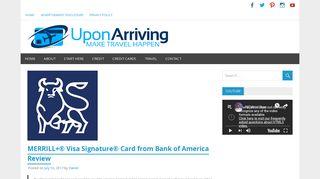 MERRILL+® Visa Signature® Card from Bank of America Review ...