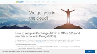 How to setup an Exchange Admin in Office 365 (and use this account ...