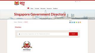 gov.sg   MINDEF