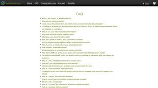 FAQ's. - MobileXpression