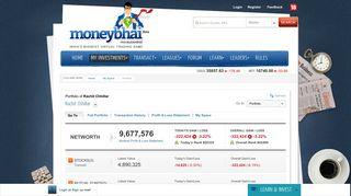 Rachit Chhillar - Moneybhai - Moneycontrol