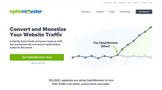 OptinMonster - Most Powerful Lead Generation Software for Marketers