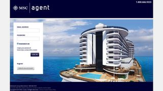 MSC Cruises Agent