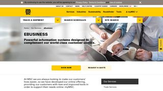 MSC Online Services | MSC