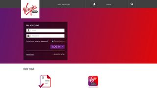 Virgin Mobile Australia | Login