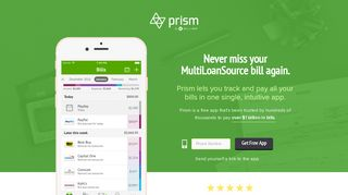 Pay MultiLoanSource with Prism • Prism - Prism Money
