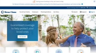Mutual of Omaha   Medicare Supplement and Life Insurance