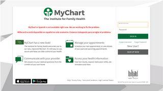 My Chart-My Health - MyChart - Login Page