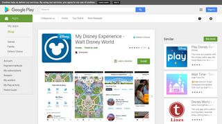 My Disney Experience - Walt Disney World - Apps on Google Play