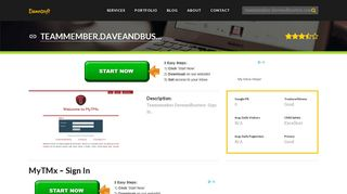 Welcome to Teammember.daveandbusters.com - MyTMx - Sign In