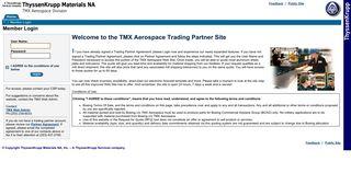 Member Login - TMX Aerospace