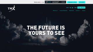 TMX - Homepage