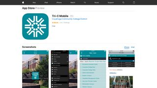 Tri-C Mobile on the App Store - iTunes - Apple
