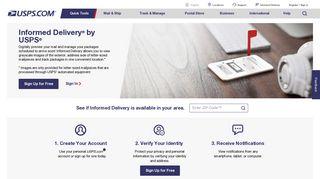 Informed Delivery - USPS.com